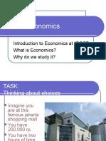 IGCSE Economics Intro