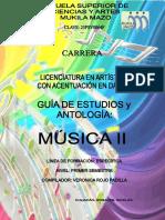 Antologia de Musica II Semestre 3 Verano 2013