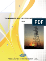 Transmission Performance 2014 Sri Lanka (with respect to Electricity)