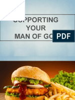 Support Your Man of God
