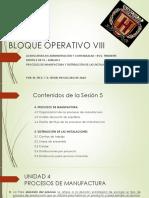 05 - Unidad 4 y 5 - Procesos de Manufactura y Distribución de Las Instalaciones