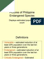 Phil Endangered Species
