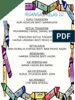 Carta Organisasi 1d