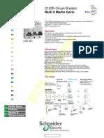 Schnider MCB catalogue