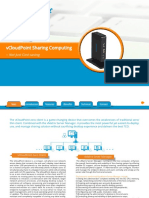 VCloudPoint Sharing Computing Solution Data Sheet