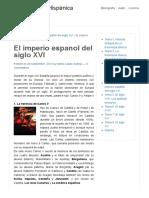 El imperio espanol del siglo XVI | Breve Historia Hispánica
