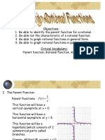 Graphing Rational Functions Ppt