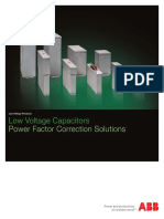 ABB - LV Capacitors - Power Factor Correction Solutions