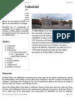 Plaza Mayor de Valladolid - Wikipedia, La Enciclopedia Libre
