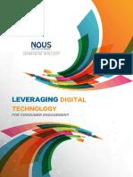 Leveraging Digital Technology for Consumer Engagement