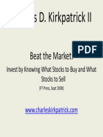 Beat the Market - Invest by Knowing What Stocks to Buy and What Stocks to Sell