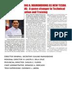 2 Pronged Agenda Program Framework