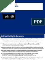 AdMob Mobile Metrics May 2010