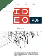 Analisis casos IDEO