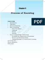Chap 5 Process of Knowing