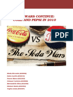 Cola Wars Continue Coke and Pepsi in 2010 - Answers to Questions