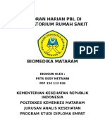 laporan harian pbl di RS biomedika