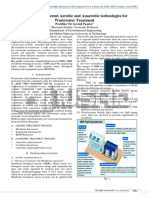 Overview Of Different Aerobic and Anaerobic technologies for Wastewater Treatment