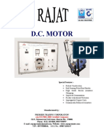 Catalogue-DC Shunt Motor
