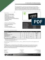 LCD Anzeigemodul Farnell
