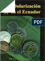 Dolarizacion en el Ecuador