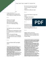 焦氏易林英譯 - Draft of Chapter 15 of the Forest of Cha