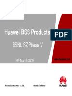 Huawei BSS Products BSNL PhaseV 6 March