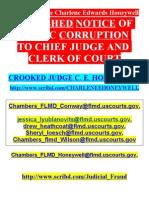 DUMB & DUMBER - Corrupt U.S. Judge C. E. Honeywell