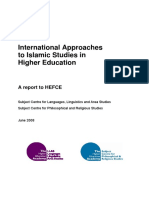International Approaches