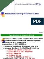 Maintenance Des Postes HT Et THT