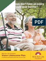 Vision Life Income Plan 08-01-13