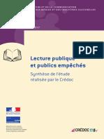 Etude DGMIC Lecture publique et publics empêchés 2017