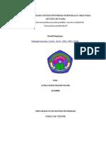 Analisis Sistem Informasi Persediaan Obat Pada Apotek Mutiara
