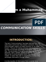 Effective Communication Skills | Karriem a muhammad