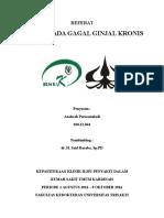 Cover Referat Anemia Pada Ckd