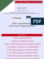 Ethics and globalisation