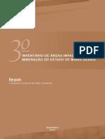 3 Inventario de Areas Impactadas Pela Mineracao MG 2015