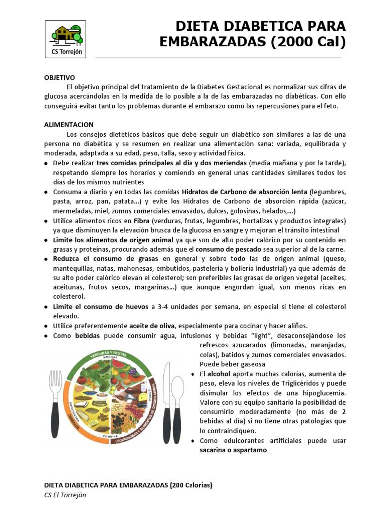 diabetes gestacional en embarazo pdf