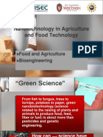 nano-technology in agriculture food technology