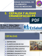 4 Cefalea ,Algias Craneofaciales