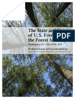 The State of U.S. Forestry and the Forestry Industry 2013