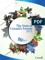 State of Canada's Forests 2015