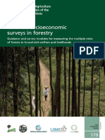 National Socioeconomic Surveys in Forestry