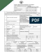 Occupancy Certificate of School