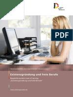 Existenzgruendung Und Freie Berufe