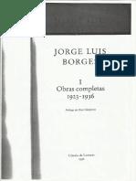 Prólogo Gimferrer a las Obras Completas de Borges