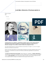 6 Aspectos de La Vida de Marx, Nietzsche y Freud Que Quizás No Conocías - BBC Mundo