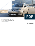 ZOE-Electric Vehile - Note Utilisation (French)