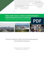 Tailor-made Course_Spatial Development Control & Land Management Handbook