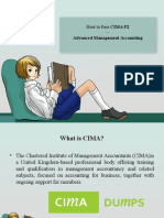 Cima P2 Study Material | Cimadumps.us